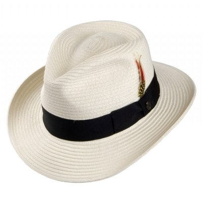 Hats - Summer C-Crown Fedora (white)
