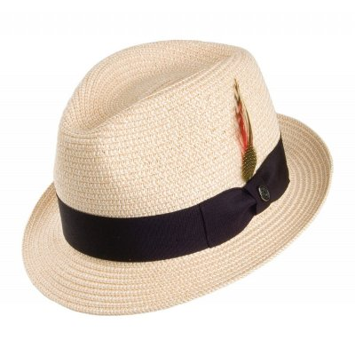 Hats - Toyo Braided Trilby (natural)