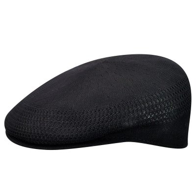 Flat cap - Kangol Tropic 504 Ventair (black)