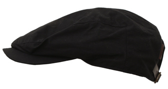 Flat cap - Wigéns Ivy Contemporary Cap (black)
