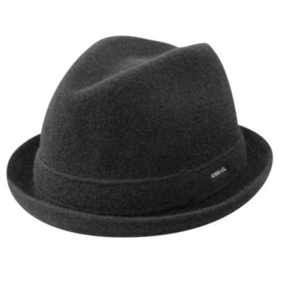 Hats - Kangol Wool Player (black)
