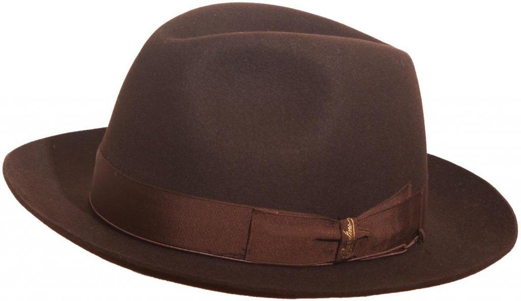 25f08c0e45d59 Hats - Borsalino Anello Superior Fedora (brown)