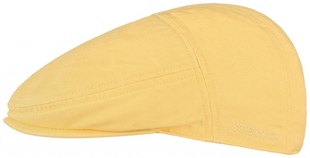 810737c6 Flat cap - Stetson Paradise Cotton (yellow)