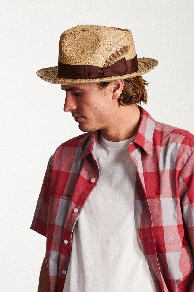 30a53f10ff0 Hats - Brixton Crosby (natural) - Brixton - Men s hats - Hatroom.eu