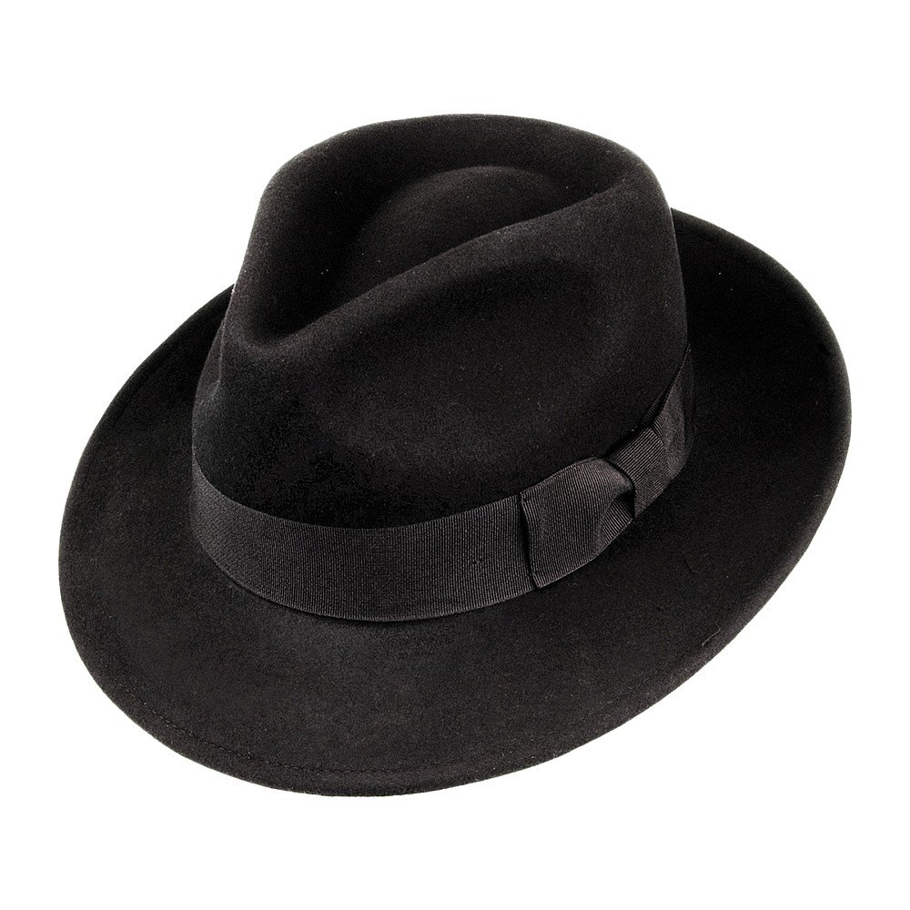 59f801567f23d Hats - Jaxon Crushable C-Crown Fedora (black)
