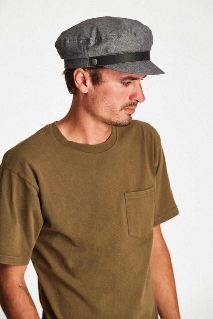 Fiddler cap - Brixton Fiddler (middle grey) - Brixton - Men s hats ... c9805da3237