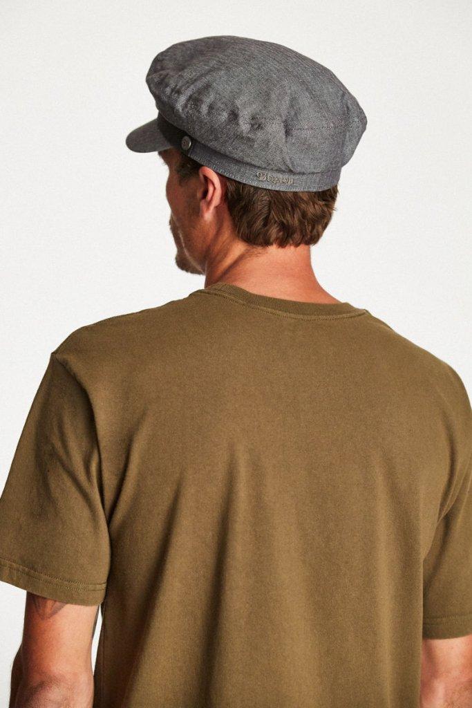 6d8a715abea Fiddler cap - Brixton Fiddler (middle grey) - Brixton - Men s hats ...