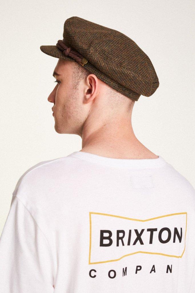 b0ce70ec1d5f6 Fiddler Cap - Brixton Fiddler (moss brown) - Hatroom.eu