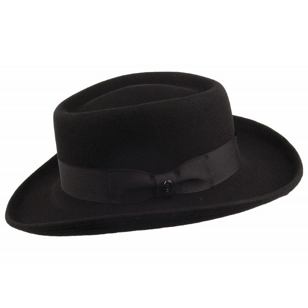 Hats - Jaxon Crushable Wool Gambler (black)