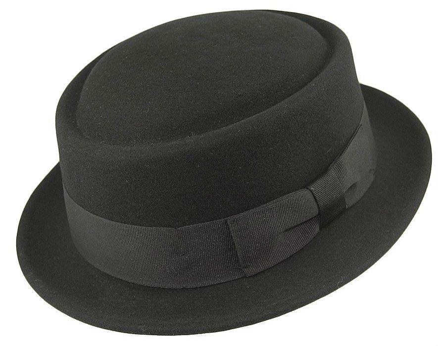 7ea8f572340 Hats - Jaxon Crushable Pork Pie (black) - Hatroom.eu