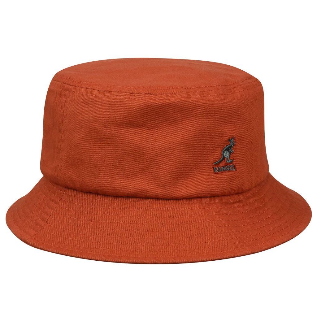 Hats - Kangol Washed Bucket (clay) - Kangol - Men s hats - Hatroom.eu 53dc2e33aae
