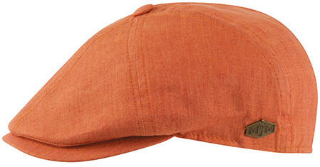 85a51a118 Flat cap - MJM Rebel Linen (orange)